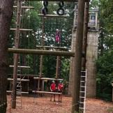 Center Parcs Elveden High Ropes - Jacob's Ladder