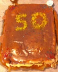 Fiftieth Papers Cake